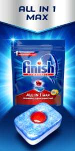 Finish Dishwasher Tablets, All in 1 Max Original (80) - £9.50 (or £6.17 with S/S offer code) +£4.49 non Prime @ Amazon