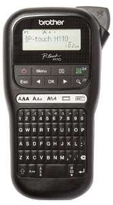 Brother PT-H110 Label Maker, P-Touch Labeller, QWERTY Keyboard, Handheld - £17.49 (Prime) / £23.49 (Non) @ Amazon