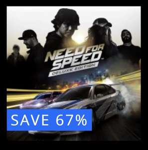 Need for Speed PS4 Deluxe Edition. PlayStation £6.49 PSN