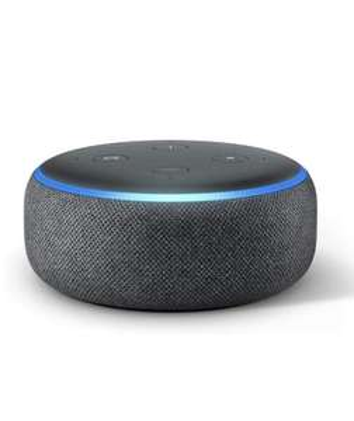 Amazon Echo Dot 3rd Gen (refurbished) £24.99 Amazon