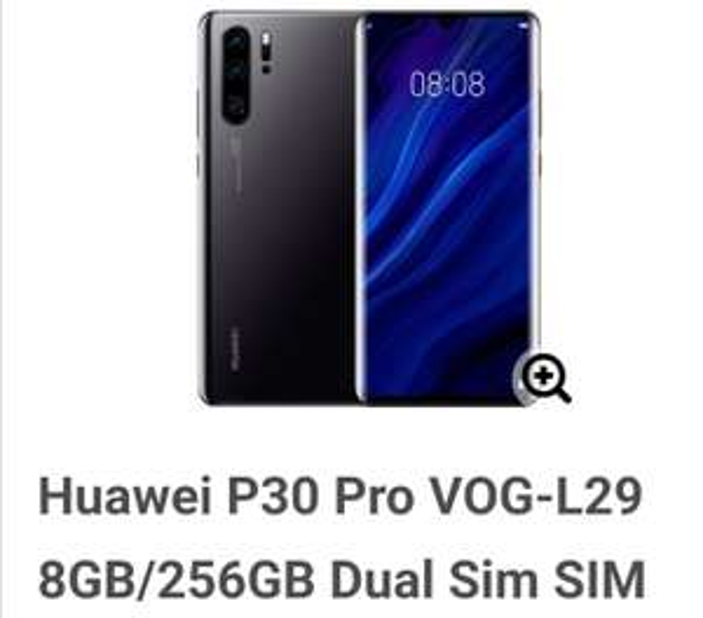 256 GB Huawei P30 Pro. Unlocked , dual SIM. £559.35 @ Eglobal