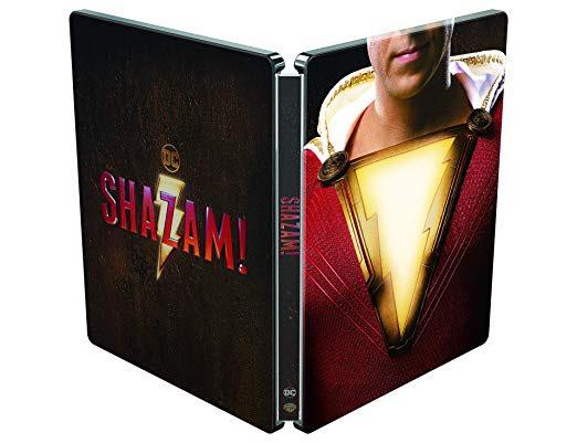 Shazam 4K UHD blu ray Steelbook £15 (Prime) / £17.99 (non Prime) @ Amazon