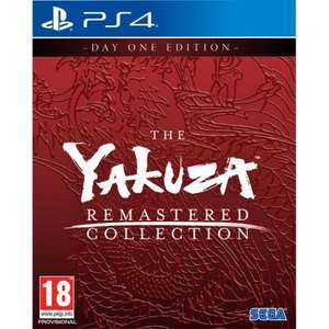Yakuza Remastered Collection (PS4) £36.95 Delivered (Preorder) @ The Game Collection