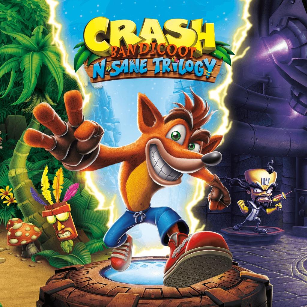 Crash Bandicoot™ N. Sane Trilogy (PS4) £17.49 @ PlayStation Network