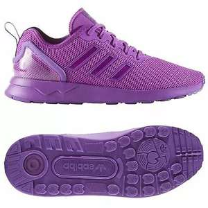 Adidas ORIGINALS JUNIOR ZX FLUX ADV TRAINERS PURPLE - Sizes 4, 5 & 5.5 £14.99 @ trade-sports Ebay