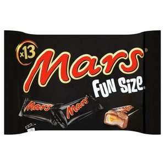 Mars funsize x 13 250g - 75p @ Morrison's