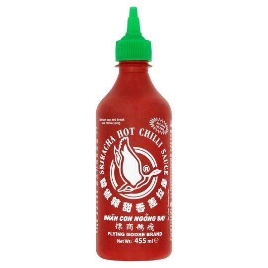 Flying Goose Sriracha Hot Chilli Sauce 455ml for £2 @ Tesco