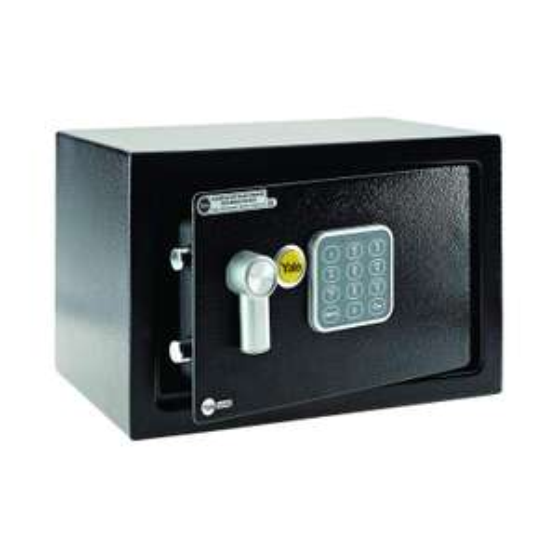 Yale Mobile Compact Safe, 20 x 31 x 20 cm, Black @ Amazon