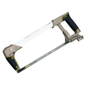 Irwin Heavy Duty ProTouch Hacksaw 24Tpi 12 300mm for £4.99 @ Screwfix (free c&c)