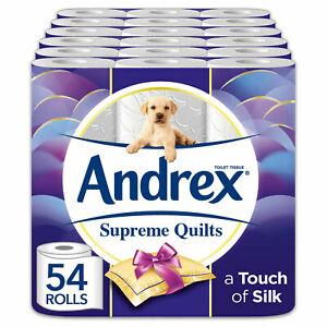 Andrex 54 Roll Supreme Quilts - £19.99 ebay  avantgardebrands