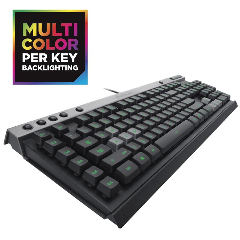 Corsair Raptor K40 Backlit Multicolor LED Gaming Keyboard £23.47 Delivered @ Ebuyer