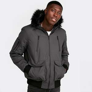 Up to 50% off Jackets and Coats example Brave Soul Bomber Jacket Was £74.99 now £29.99 size XS up to XL @ Footasylum Free c&c