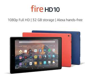Amazon Fire HD 10 Tablet 32GB - with Special Offers £109.99 / without Special Offers £119.99 Prime Customers - Amazon