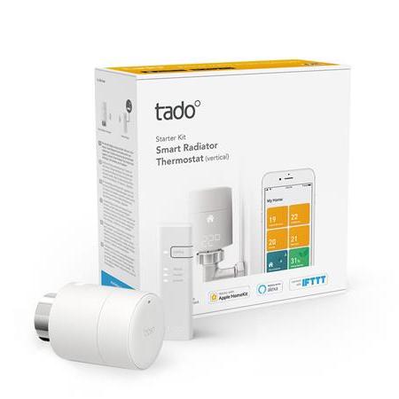 Tado Smart Radiator Thermostat Starter Kit V3+ Vertical - £69.99 Delivered @ BT Shop