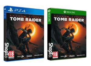 Shadow of the Tomb Raider (PS4/Xbox one) for £15.85 Delivered @ Shopto