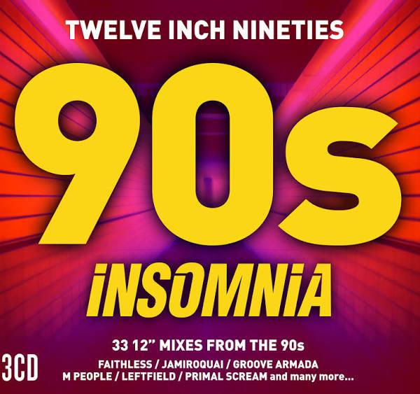 Twelve Inch Nineties Insomnia CD - £3 Asda Crawley
