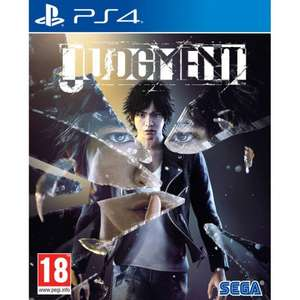 Judgment PS4 for £27.95 Delivered @ The Game Collection