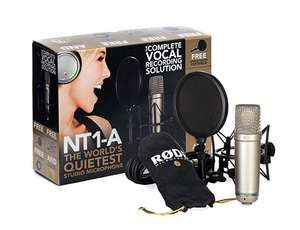 Rode Condenser Microphone RØDE NT1-A Vocal Pack £111 @ Amazon