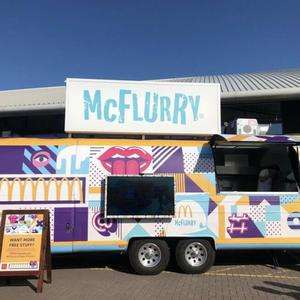 FREE McFlurry from McFlurry Van as part of Freshers19 Tour @ McDonald's