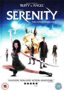 Serenity 4K HDR £3.99 @ iTunes
