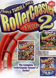 [Steam] Rollercoaster Tycoon Deluxe 79p / Rollercoaster Tycoon 2 Triple Thrill Pack £1.39 @ Direct2Drive
