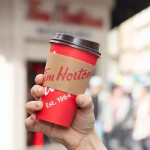 Free hot drink for NHS employees at Tim Hortons