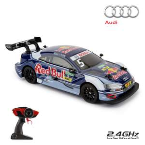 Radio Controlled Audi RS 5 DTM Scale 1:16 - Blue 2.4GHZ and Radio Controlled High Speed Racer 1:16 Scale - Blue 2.4GHZ £30 @ Argos