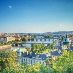 2 nights in Prague £64 each (£127.65 total - min 2 people) at a Choice of 4* Hotels with Breakfast and Flights @ Groupon / Crystal Travel