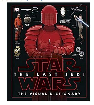 Star Wars The Last Jedi™ The Visual Dictionary £2 @ Amazon