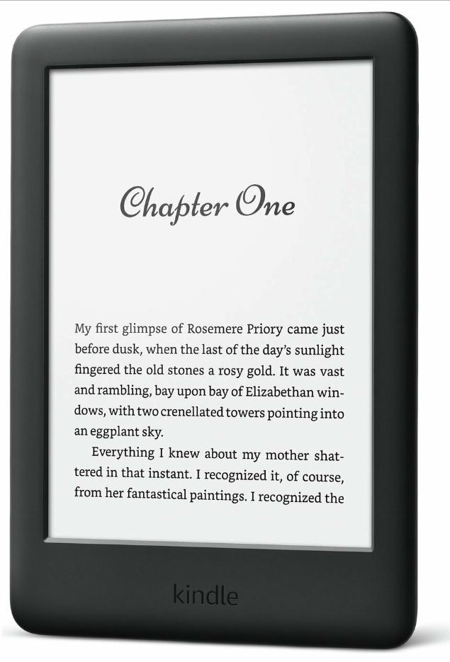 Kindle Touch 2019 4GB E-Reader - Black - Argos £49.99