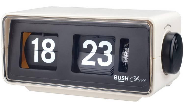 Bush Classic Flip Radio Alarm Clock - Cream £8.99 @ argos clearence