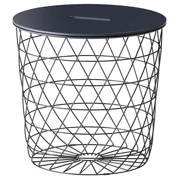 KVISTBRO Storage table, dark blue, 44 cm £22.95 delivered @ Ikea