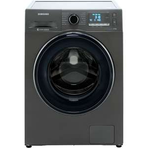 Samsung ecobubble™ WW90J5456FC 9Kg Washing Machine with 1400 rpm - Graphite - A+++ Rated £389 @ AO
