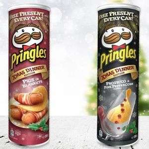 Pringles Festive Flavours 190G £1 at Heron Foods