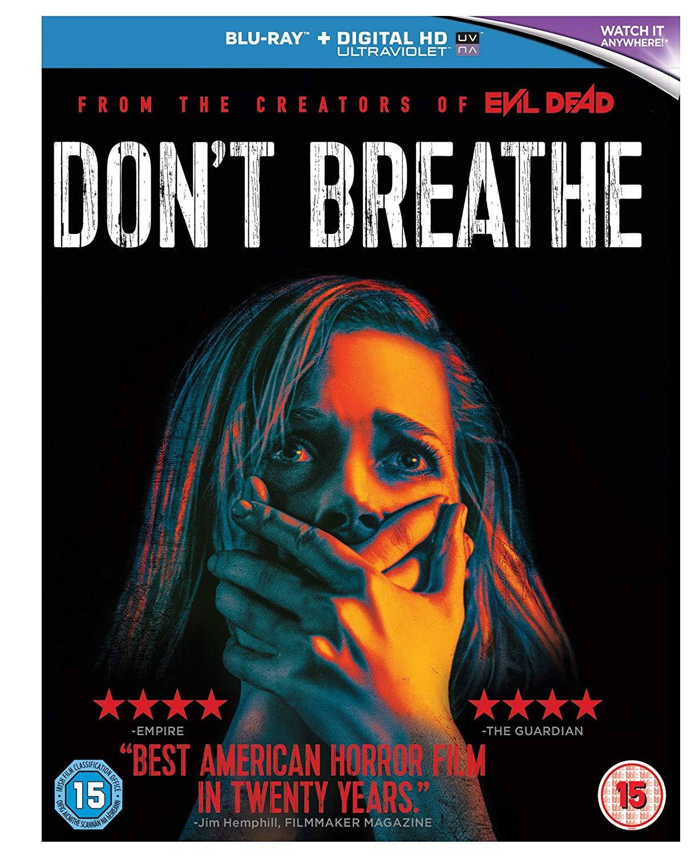 Dont Breathe  [Blu-ray] [2016] [Region Free] £3.79 (Prime) / £6.78 (non Prime) at Amazon
