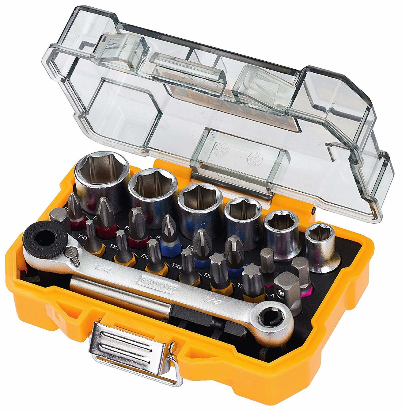 Dewalt 24 Piece High Performance Socket and Screwdriving Set with Case (DT71516) for £11.98 (Prime) / £16.47 (NP) delivered @ Amazon