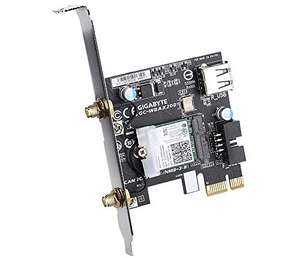WIFI 6 - GIGABYTE GC-Wbax200 2x2 802.11Ax Dual Band WiFi + Bluetooth 5 PCIe Expansion Card £45.75 delivered @ Amazon.com