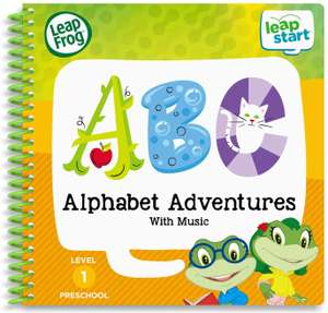 LeapFrog LeapStart Nursery Alphabet Adventures Activity Book £5 @ Amazon - Add on item