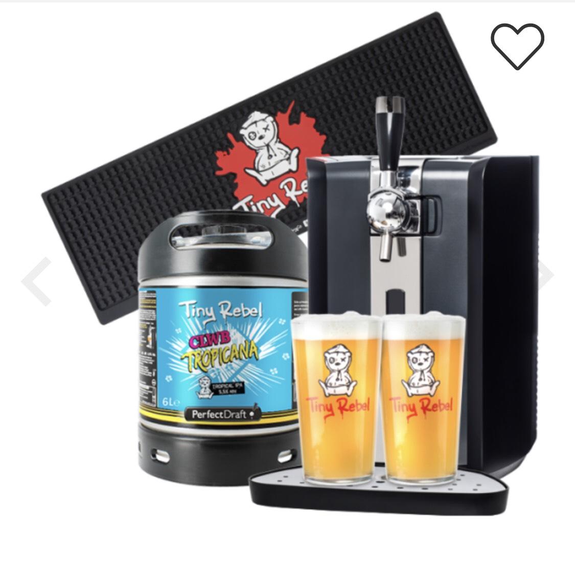 Perfect draft Tiny rebel starter bundle at Beerhawk for £199