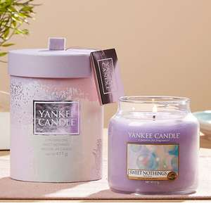 Yankee Candle Sweet Nothings Medium Jar 411g Gift Set £10 / £9.50 Delivered For New Accounts With Code @ Yankee Bundles