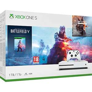 Xbox One S Pack 1 TB Battlefield V - Deluxe Edition Bundle £171.36 (£164 with fee free card) Delivered @ Amazon France