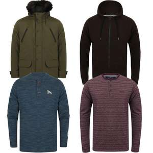 50% Off 100+ Men's Clothing Items + Extra 10% Off with Code - Jackets from £15.75, Hoodies & Sweatshirts from £6.75 & more @ Tokyo Laundry