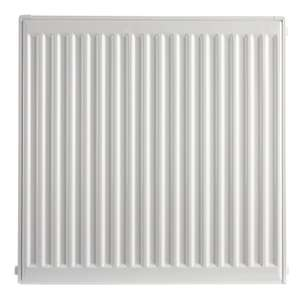 Wickes Type 11 Single Panel Roundtop Radiator - White 400 X 600 mm, £5 at Wickes (Free C&C)