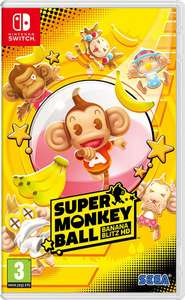 Super Monkey Ball: Banana Blitz HD [Nintendo Switch] Preorder for £29.99 @ Coolshop