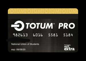NUS /TOTUM Pro Card for all (via Acca Student) for £16.49