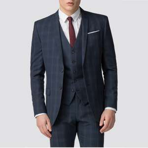 Ben Sherman Blue Puppytooth 2 piece Suit £44.55 / 2 Piece Suits from £39, more in the Clearance Sale + Extra 10% Off with code @ Suit Direct