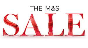 The Marks & Spencer Sale - 50% off selected lines