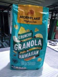 Mornflake Mighty Oats Crunchy Granola Hawaiian/ ORIGINAL 500gm for £1 @ Asda online and in-store