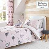 Catherine Lansfield Woodland Friends Easy Care Double Duvet Set Pink @ Amazon £7.50 Prime £11.99 Non Prime
