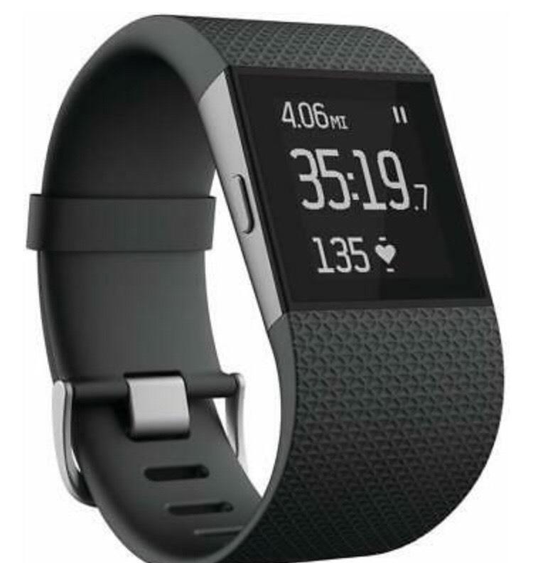 Fitbit Surge Fitness Superwatch, Black, Large - Grade B / Refurbished £19.99 at ebay/stockmustgo